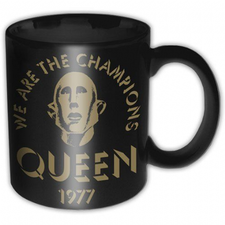 Queen We Are The Champions Ceramic Mug